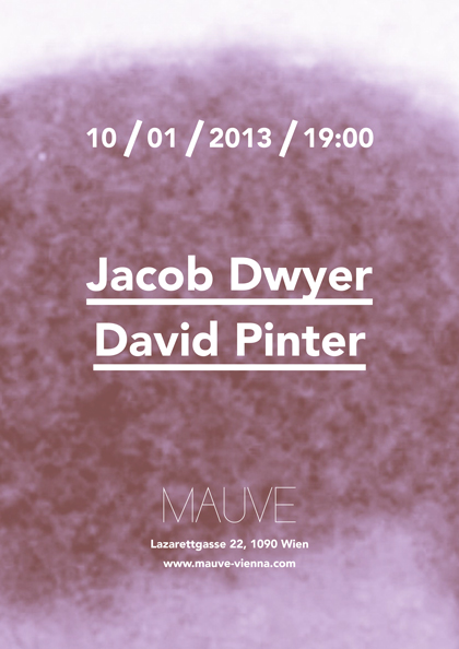 Jacob Dwyer / David Pinter